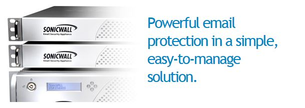 Sonicwall Email Security Appliances